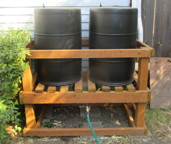 BareNaked Beauty Rain Barrels