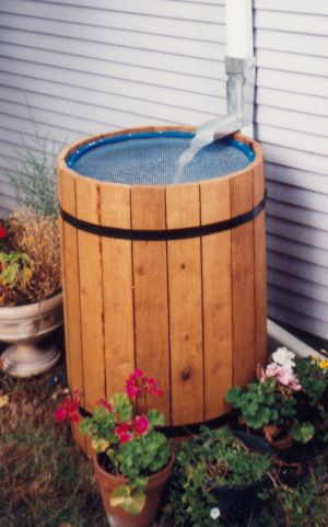 Diy rain barrel downspout diverter for First flush diverter plans
